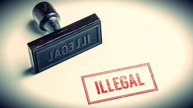 illegal activities